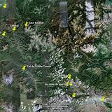 L'itinéraire dans la République de l'Altaï (2 au 15 juillet 2010)