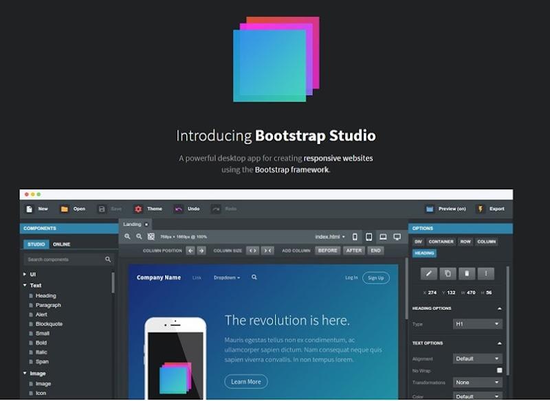 bootstrap-studio