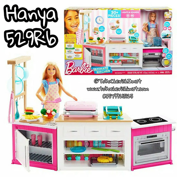 Jual KitchenSet Barbie Murah Grosir Ecer Diskon Original Mattel