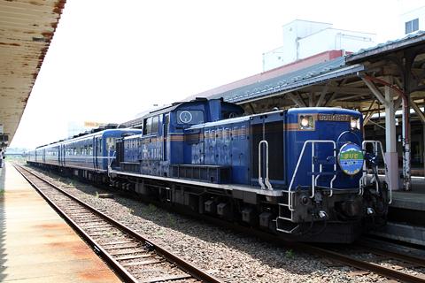 JR北海道 「リバイバルまりも」 DD51&14系座席車&24系寝台車 釧路駅にて