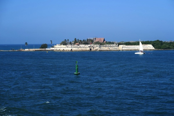 Cartagena Harbour Entrance