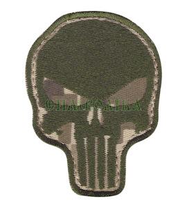 Череп-punisher/тк.NDU нитка полинь/нарукавна емблема