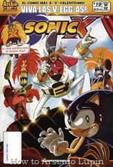 """Actualización 27/01/2018: Se agrega el numero 18 de Sonic X por Pablo_Av para The Tails Archive y La casita de Amy Rose. ¡Las Vegas!: Siempre buscando formas de reunir capital para financiar más robots malvados, el Dr. Eggman se arriesga a apostar en grande en el nuevo Throndyke Casino, propiedad de los padres de Chris, el """"mejor amigo de Sonic"""". ¿Sonic, Tails y sus amigos podrán detener a Eggman o habrá un nuevo """"rey"""" en la ciudad con su propio ejercito de robots bailarines? Tendrán que leer este numero para ver qué sucede porque """"lo que sucede en este numero se queda en este numero""""."""