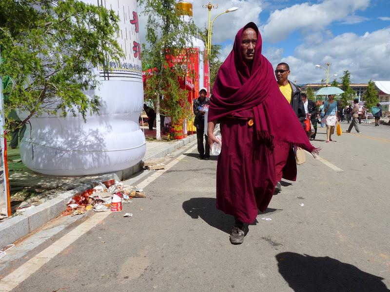 Chine. Yunnan.Shangri la Course hippique annuelle - P1250749.JPG