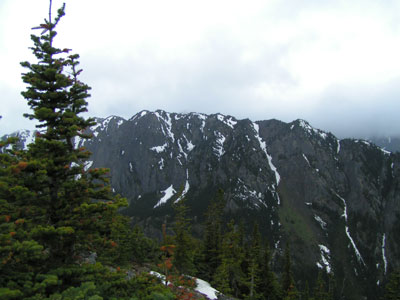 Looking towards Silver Peak and Tull Canyon