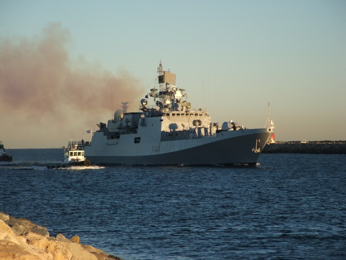 INS Tabar - F44 - Missile Frigate - Indian Navy - 05-TN