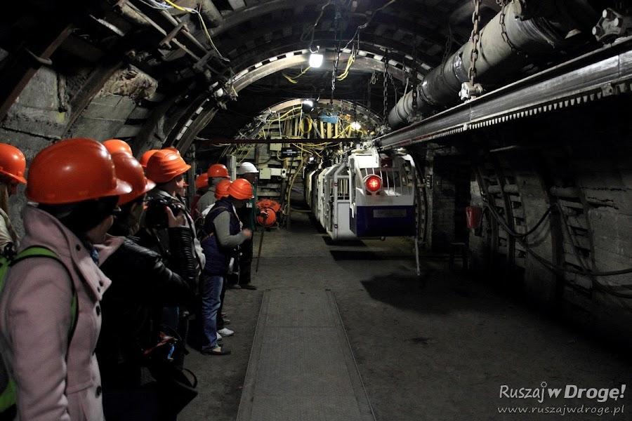 Kopalnia GUIDO w Zabrzu - podziemna kolejka