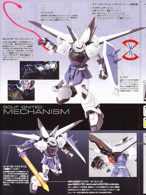 Tạo ra nhiều tư thế đẹp mắt cho Gouf Ignited Yzak Jule Custom HG Gundam Seed tỷ lệ 1/144