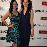 OIC - ENTSIMAGES.COM -  Serena Chloe Gardner and Dani Thompson at the Film4 Frightfest on Monday   of  Banjo UK Film Premiere at the Vue West End in London on the 31st  August 2015. Photo Mobis Photos/OIC 0203 174 1069