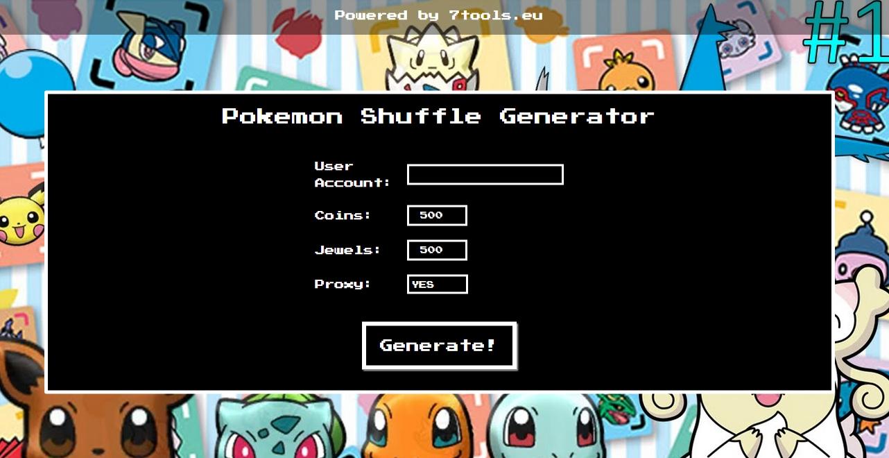 Pokemon Suffle Online Hack