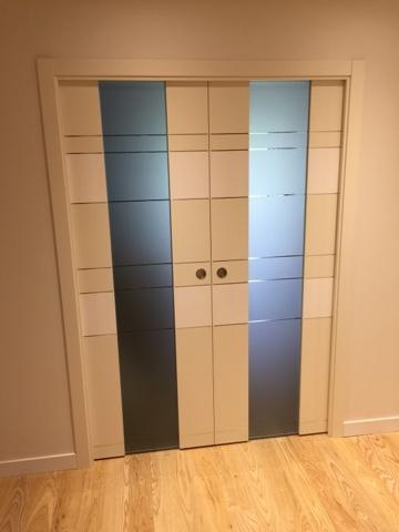 Karpinteria puertas armarios y tarimas puertas de - Puertas cristal interior ...