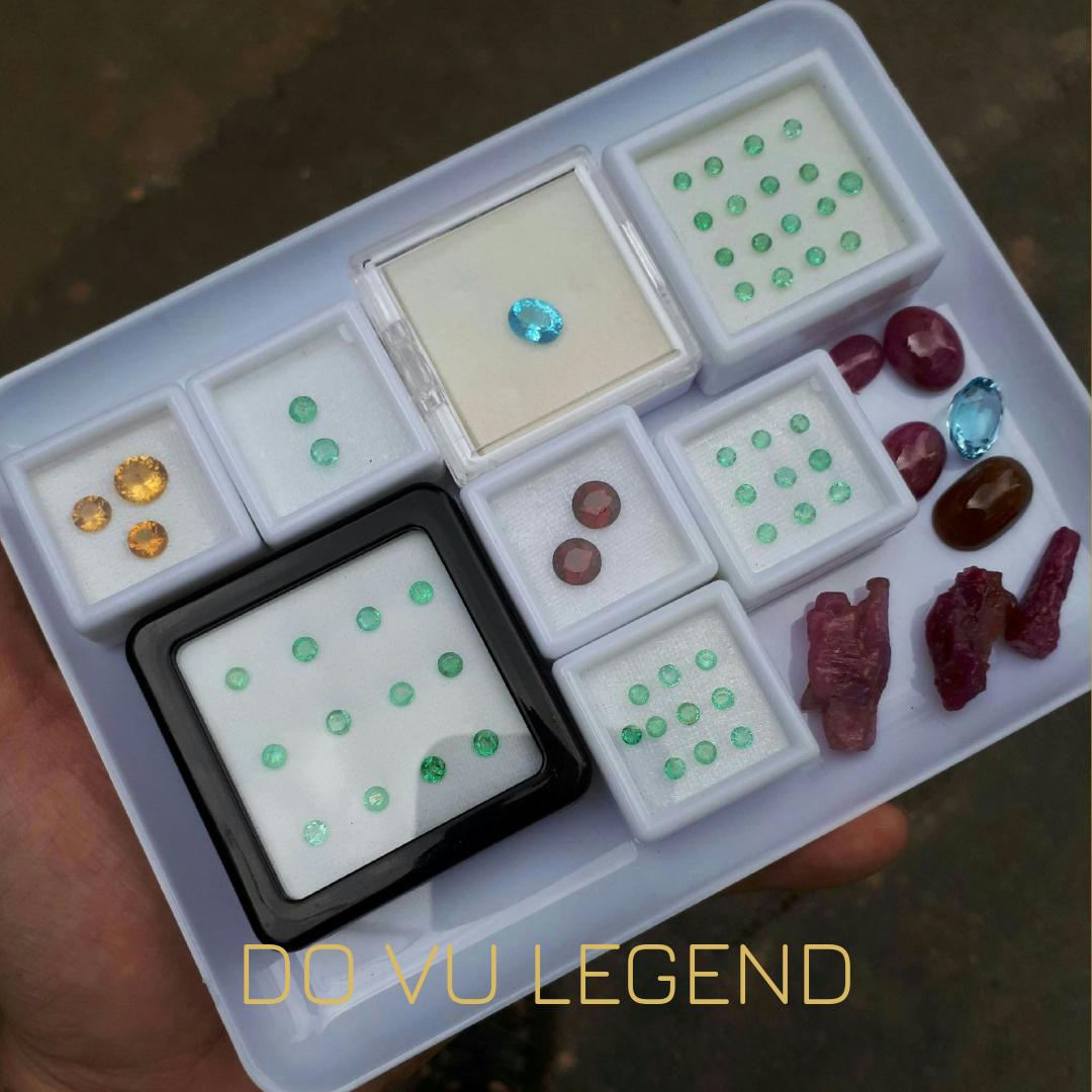 Đá quý Ruby, Emerald, Citrine, Topaz