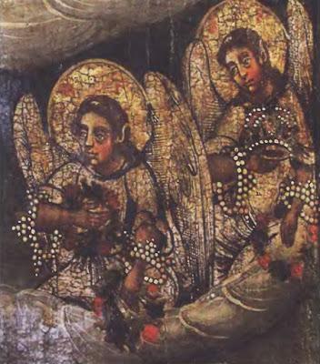 Ангелы с венцами