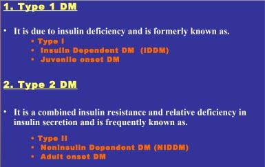 Types of diabetes pdf