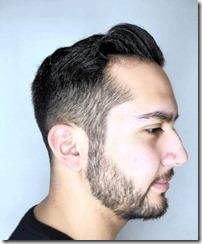 Textured fade haircut men
