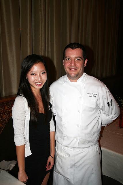 The Carillon, Chef de Cuisine, Chris Andrews