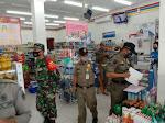 Bersama Polri dan Satpol PP, Babinsa Koramil Bambanglipuro Laksanakan Penegakkan Prokes