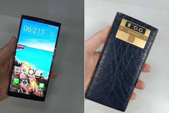 Gionee M7 plus front back