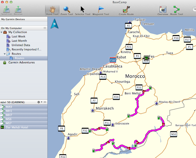 Tracks 4 Africa on my Garmin A couple of questions Horizons