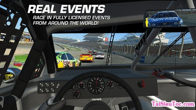 Cảm giác đua xe rất thật trong game Real Racing 3