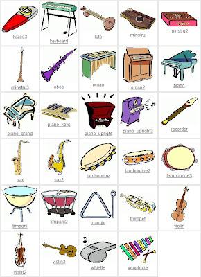 Juegos Musicales: Clip art musicales y caricaturas de músicos