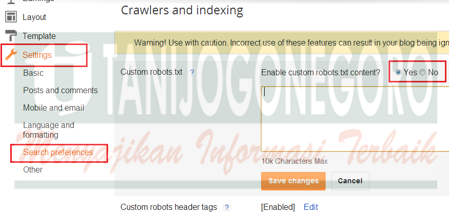 Membuat file robots.txt agar blog SEO Friendly