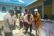 Polres Soppeng Serahkan Hewan Qurban ke Pesantren Hidayatullah Salaonro