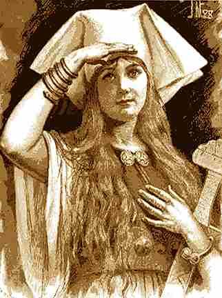 Freya Looks, Asatru Gods And Heroes