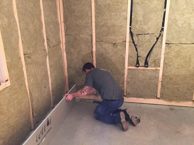 Thomas og charlotte bygger hus: januar 2015