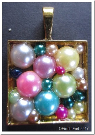Pearl Bead Pendant Tray Crafts
