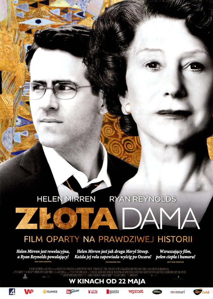 Ulotka filmu 'Złota Dama (przód)'