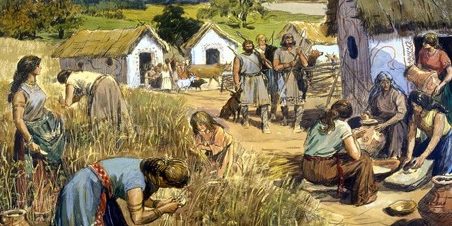 В поселке славян