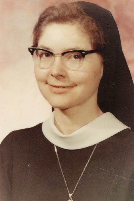 Elaine and Francis Early Years - Elaine-as-nun.jpg