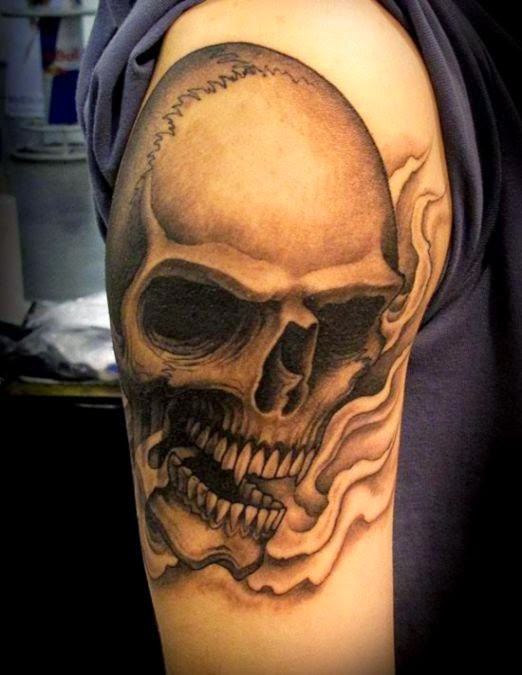50 Skull Tattoo Designs for Men  Tattooton