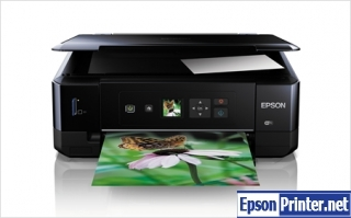 How to reset flashing lights for Epson XP-520 printer