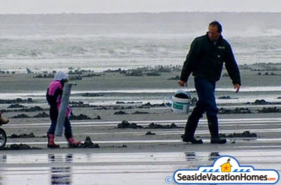 Clamming In Seaside Cannon Beach And Gearhart Oregon A Family