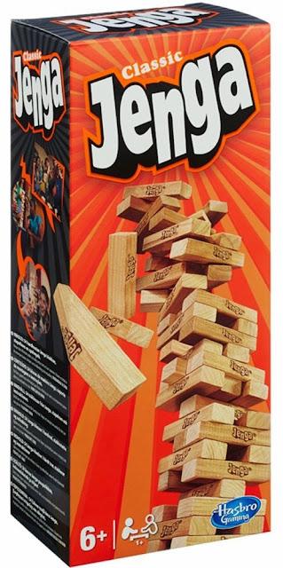 Hộp sản phẩm Đồ chơi rút gỗ Jenga Classic