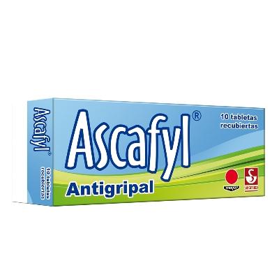 Acetaminofen + Clorprofenpiridamina + Cafeina Ascafyl