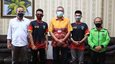 Atlet Paralayang PON 2021 Asal Payakumbuh Temui Wako Jelang ke Papua