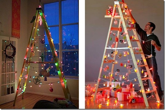 árboles-de-Navidad con-escaleras-de-madera (1)