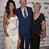 OIC - ENTSIMAGES.COM - Lizzie Cundy, Bob Wilson and Megs Wilson at the  London Football Legends Dinner & Awards in London 3rd March 2016 Photo Mobis Photos/OIC 0203 174 1069