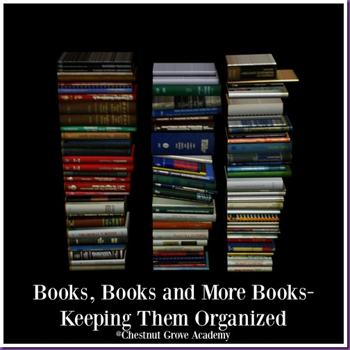 Organizing Books