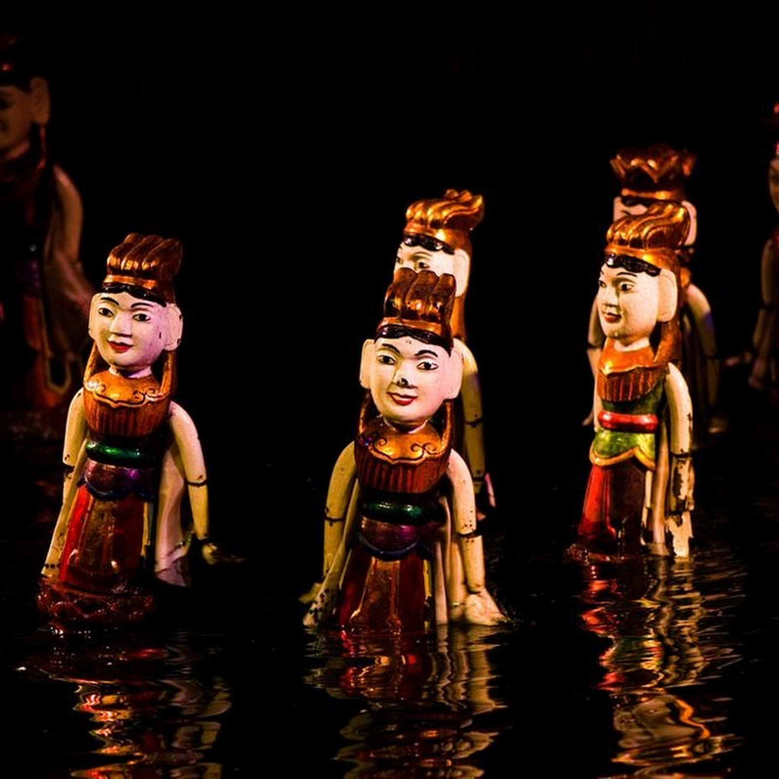 Vietnamese Water Puppet Shows