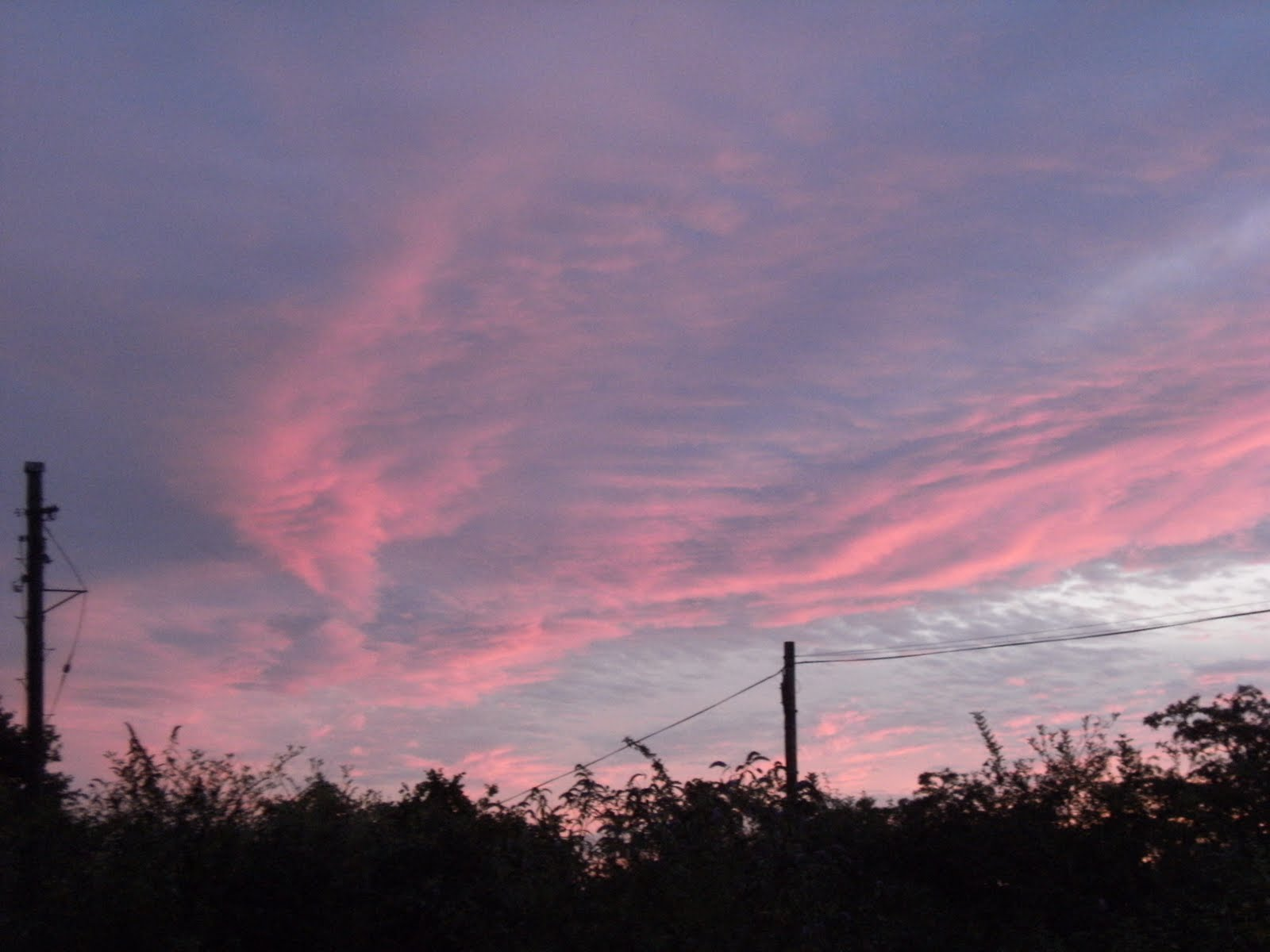 DSCF9297 Evening sky over Pulborough