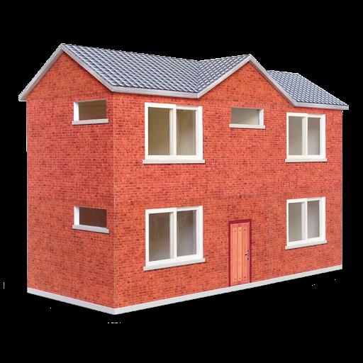 papercraft;建築;紙模型;landscape;場景