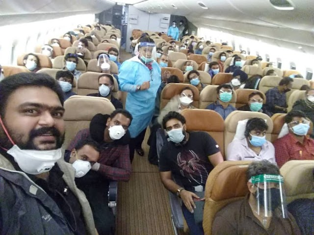 Operation Go Back To Your Country As 312 Indians Leave Nigeria Because Of Coronavirus