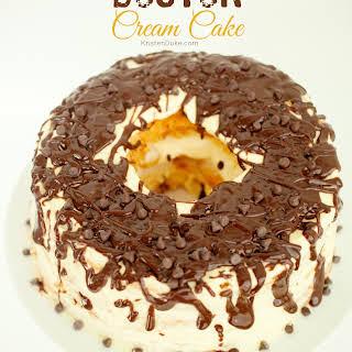 Boston Cream Cake {10 minute dessert}.