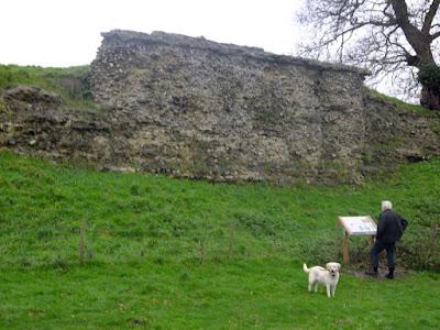 Remaining wall of Venta Icenorum