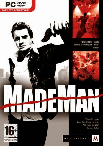 Cover Of Made Man (2006) Full Latest Version PC Game Free Download Resumable Links at Alldownloads4u.Com