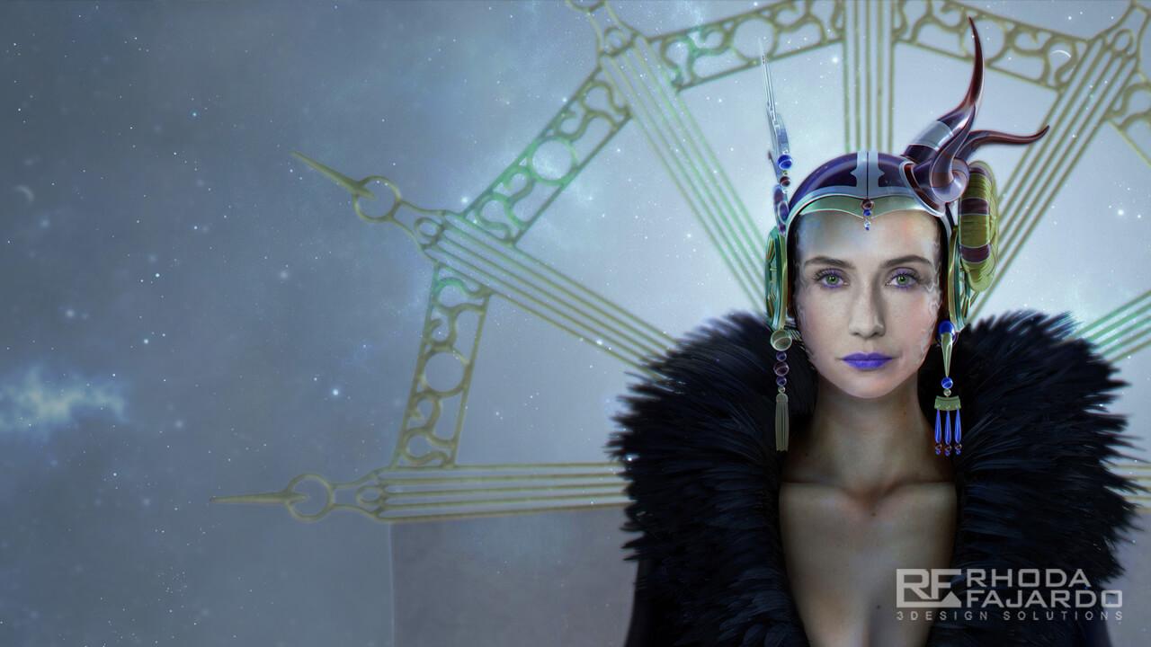 Melisandre as Sorceress Edea